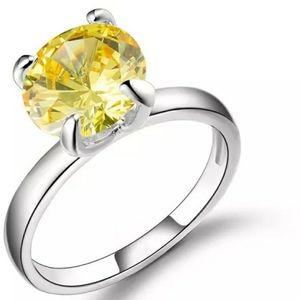 🆕️💍Genuine Citrine ring sterling silver